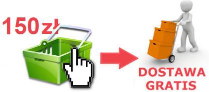 9a14a8a790 Zamówienia powyżej 150 PLN - dostawa gratis
